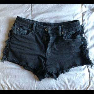 Carmar high waisted shorts